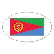 Eritrea Flag Oval Decal