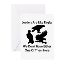 Leaders Are Like Eagles Greeting Cards (Pk of 10)