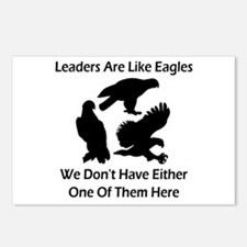 Leaders Are Like Eagles Postcards (Package of 8)