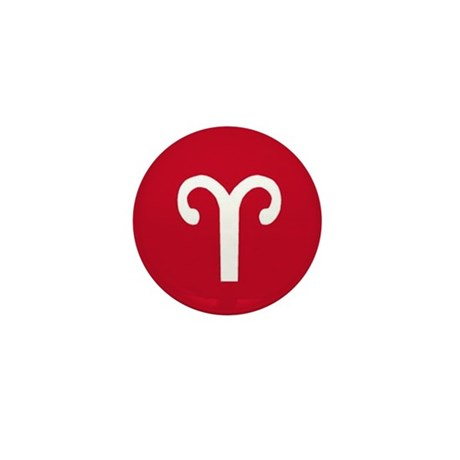 aries horoscope Mini Button