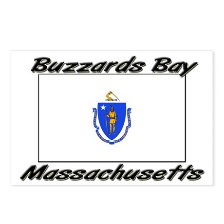 Buzzards Bay Massachusetts Postcards (Package of 8