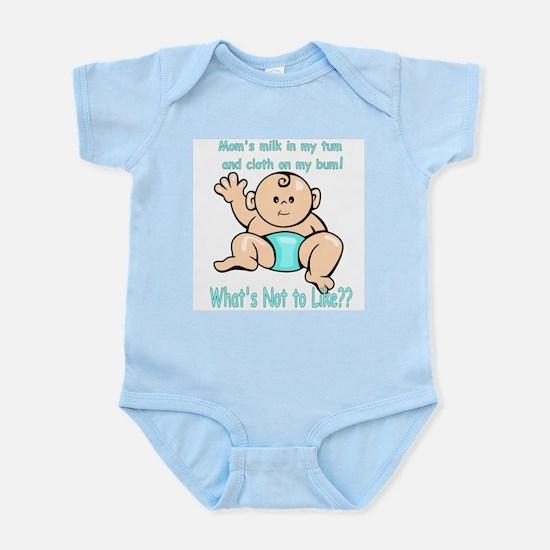 Tum Bum Blue Infant Creeper