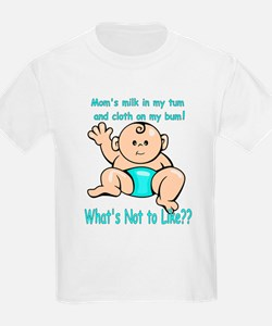 Tum Bum Blue Kids T-Shirt