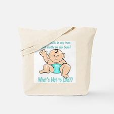 Tum Bum Blue Tote Bag