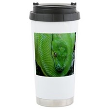 Snake-Green Tree Python Travel Mug