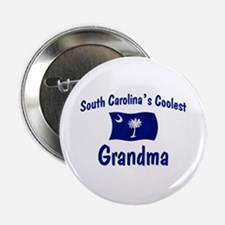 "Coolest S Carolina Grandma 2.25"" Button"