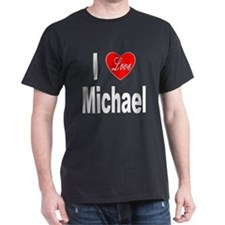 I Love Michael (Front) T-Shirt