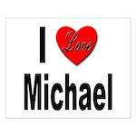 I Love Michael Small Poster