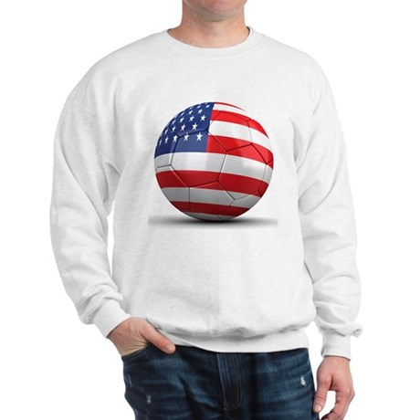 USA Soccer Ball Sweatshirt