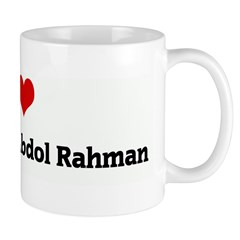 I Love Kejan Akrem Abdol Rahm Mug