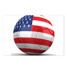 USA Soccer Ball Postcards (Package of 8)