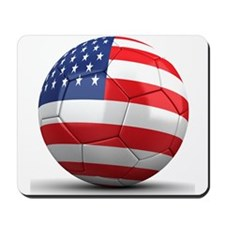 USA Soccer Ball Mousepad