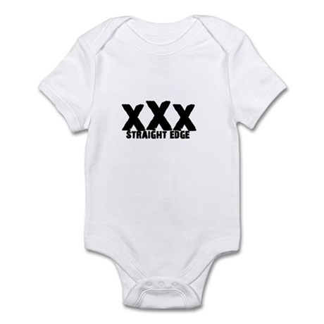 xXx Straight Edge Infant Bodysuit