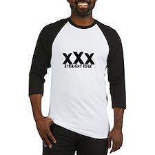 xXx Straight Edge Baseball Jersey