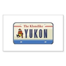 Yukon Plate Rectangle Decal