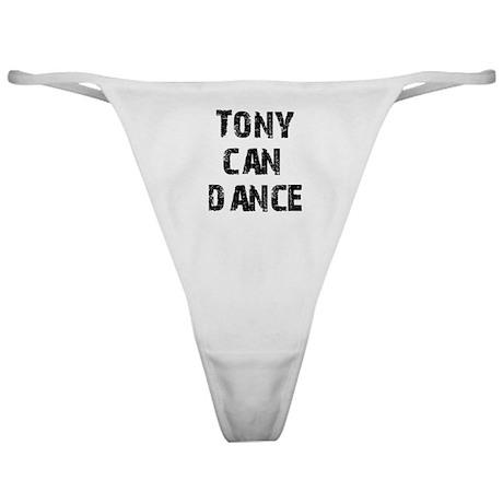 Tony Can Dance Classic Thong