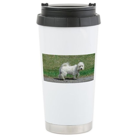 The Coton Pup Stainless Steel Travel Mug