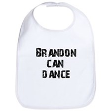 Brandon Can Dance Bib
