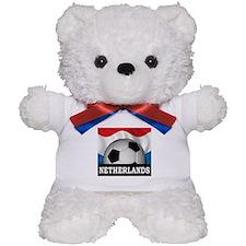 Football Netherlands Teddy Bear