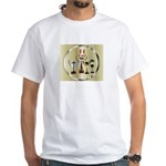 Honor Dad White T-Shirt