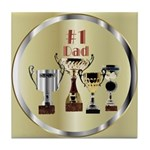 Honor Dad Tile Coaster
