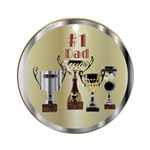 Honor Dad Ornament (Round)