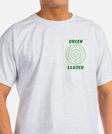 Green Leader's Ash Grey T-Shirt