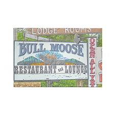 Vintage Moose Lodge Magnet