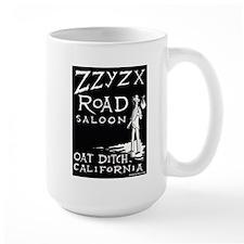 Large Zzyzx Road Hitchhiker Mug