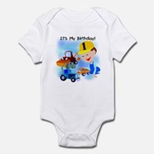 Construction 1st Birthday Infant Bodysuit
