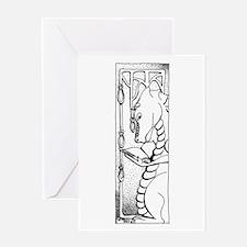 Dragon Reader Greeting Card