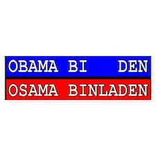 Obama - Osama Bumper Bumper Bumper Sticker
