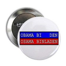 "Obama - Osama 2.25"" Button"