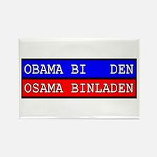 Obama - Osama Rectangle Magnet