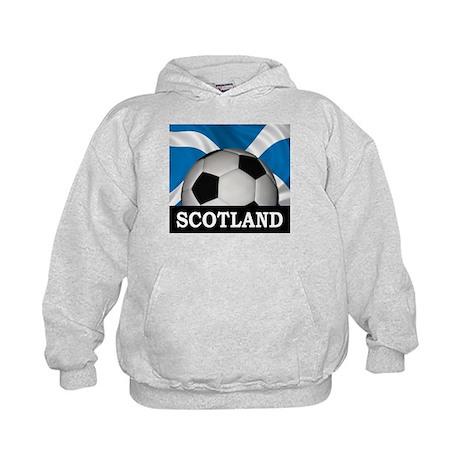 Football Scotland Kids Hoodie