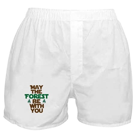 May The Forest Be With You Boxer Shorts