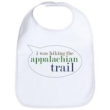 I Was Hiking the Appalacian T Bib