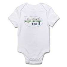 I Was Hiking the Appalacian T Infant Bodysuit
