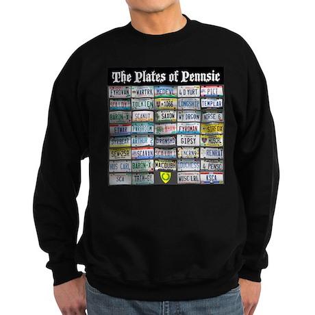 Plates of Pennsic Sweatshirt (dark)