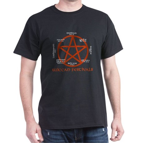 Wiccan festivals Dark T-Shirt