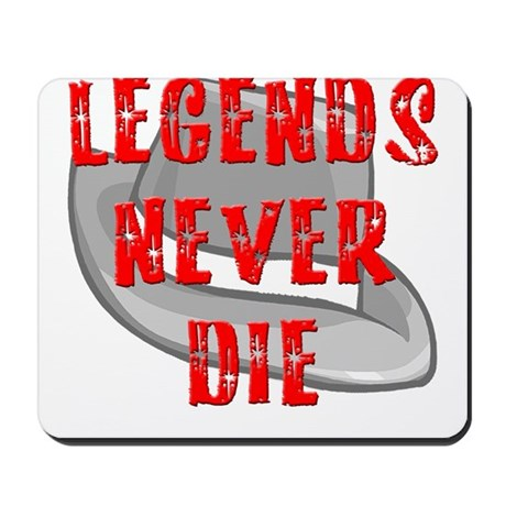 Michael Jackson Legends Never Mousepad