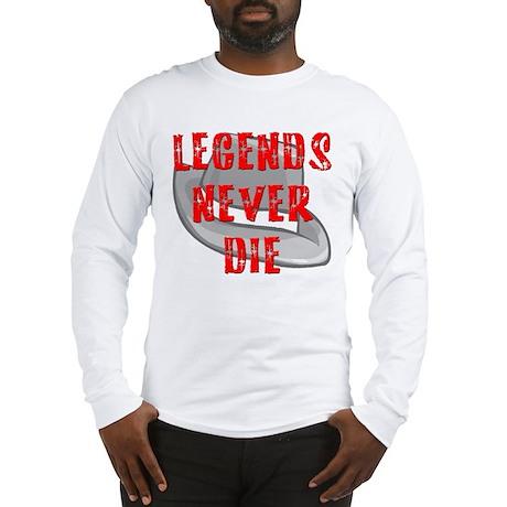 Michael Jackson Legends Never Long Sleeve T-Shirt