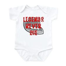 Michael Jackson Legends Never Infant Bodysuit