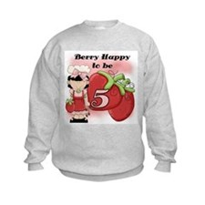 (Black) Berry 5th Birthday Sweatshirt