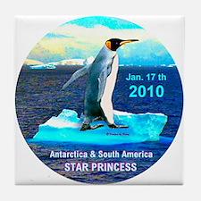 Star Antarctic S. America 1-17-2010 - Tile Coaster