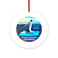 Star Antarctic S. America 1-17-2010 - Ornament (Ro
