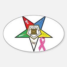 Teardrop OES BC Awareness Oval Decal