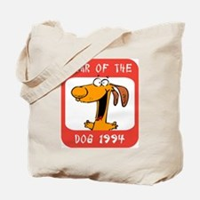 Year of The Dog 1994 Tote Bag
