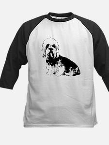 Dandie Dinmont Terrier Kids Baseball Jersey