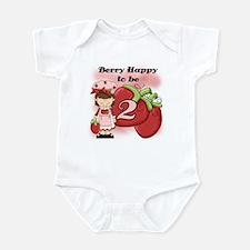 (Brunette) Berry 2nd Birthday Infant Bodysuit